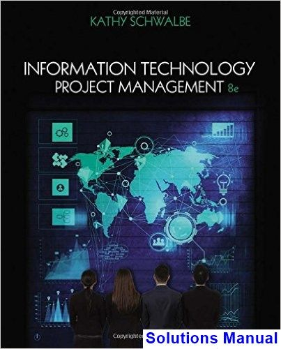 Information Technology Project Management 8th Edition Kathy