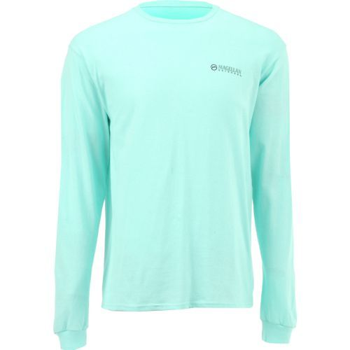 Magellan Outdoors Men's Great Smoky Mountains Long Sleeve T-shirt (Aqua Or Turquoise, Size Small) - Men's Outdoor Apparel, Branded Graphic T's at A...