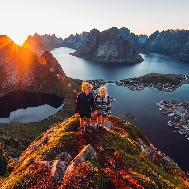 Hands down the most beautiful view I've ever seen! Norway, you have our hearts!!