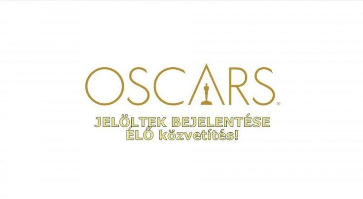 2016. jan. 14-én, csütörtökön jelentik be az idei, 88. Oscar-díj 2016-os jelölteket. #Oscar #Oscars