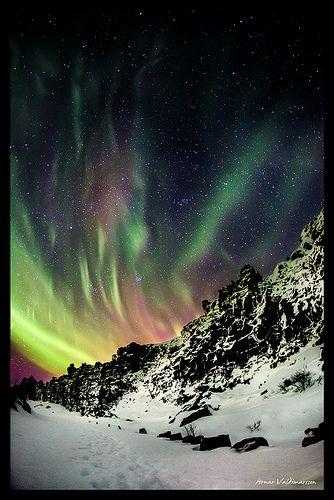 Aurora Borealis in Iceland By Arnar Valdimarsson