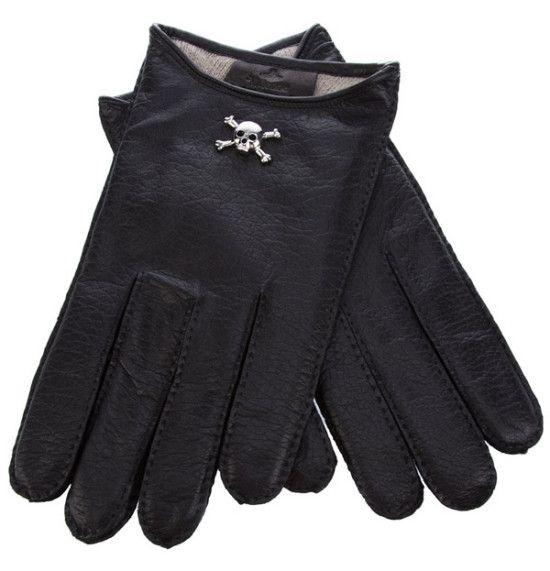 Skull Cropped Gloves by Vivienne Westwood