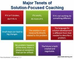 SFBT: Solution Focused Brief Therapy Coaching; Healthy and Effective Probem-Solving Strategies
