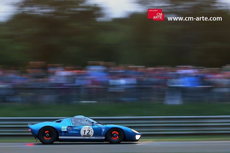 Ford GT40. Le Mans Classic.