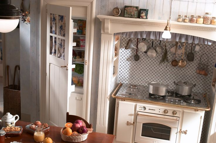 Shabby Chic Country Kitchen Decor | Old Country Kitchens: Kitchens Country And Shabby Chic Style