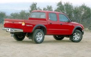 In this photo, there is a 1999 - 2003 Toyota Tacoma TRD Supercharged Truck.