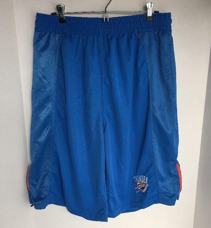OKC Oklahoma City Thunder NBA Team Apparel Basketball Shorts Mens Large #Zipway #OklahomaCityThunder
