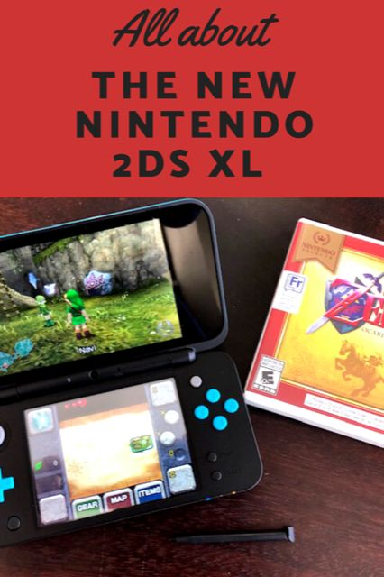 Play On with the New Nintendo 2DS XL