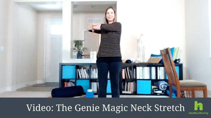 I'm not usually one for quick-fixes and magic exercises...lasting results take some time and effort. BUT… When you get that dreaded neck pain that makes it h...