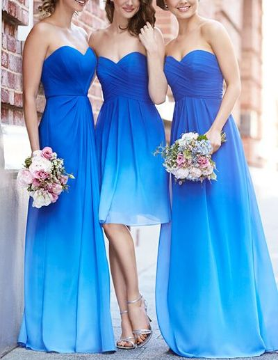 The long bridesmaid dress is fully lined, 4 bones in the bodice, chest pad in the bust, lace up back or zipper back are all available, total 126 colors are available. This dress could be custom made, there are no extra cost to do custom size and color. Description of long prom dress 1, Mate...