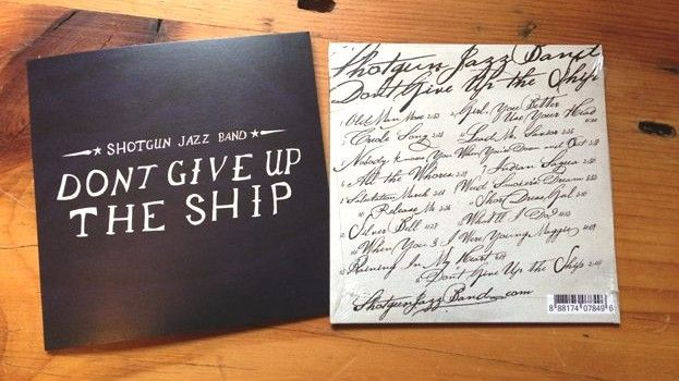 """New Release """"Don't Give Up The Ship"""" by Shotgun Jazz Band - Swing DJ Resources"""