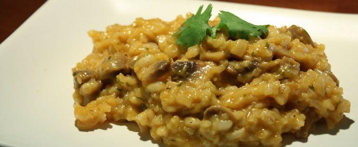 Riz aux champignons style risotto mamanszen.com