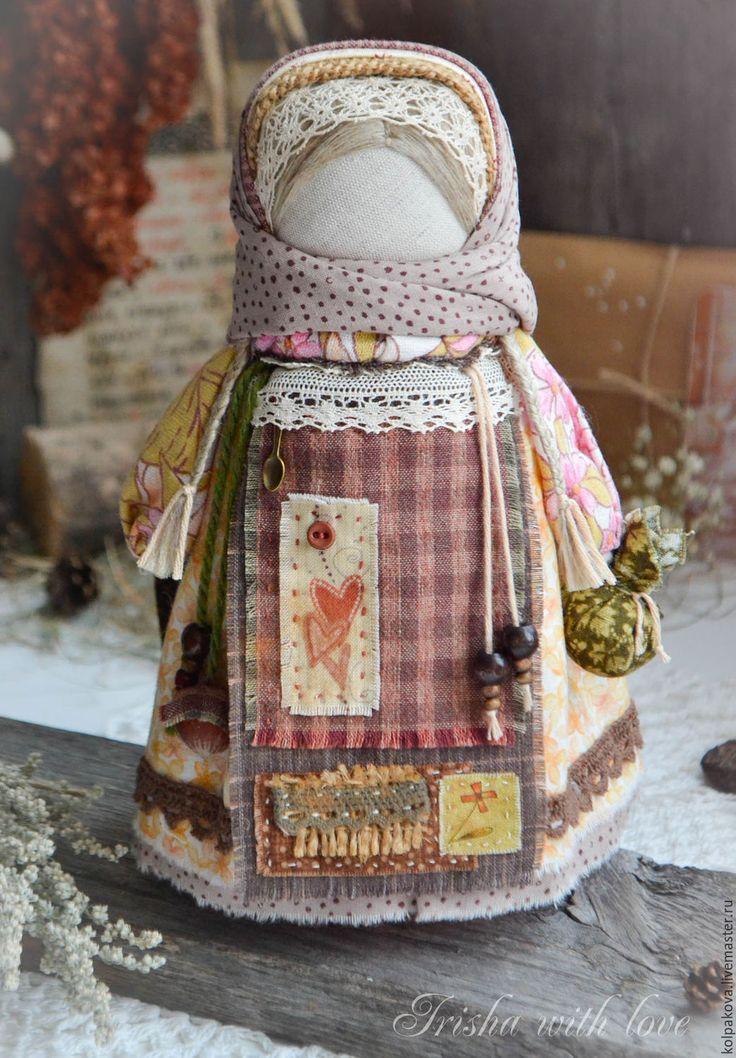 Купить кукла-оберег Ангел осенних снов. - коричневый, народная кукла, народная традиция
