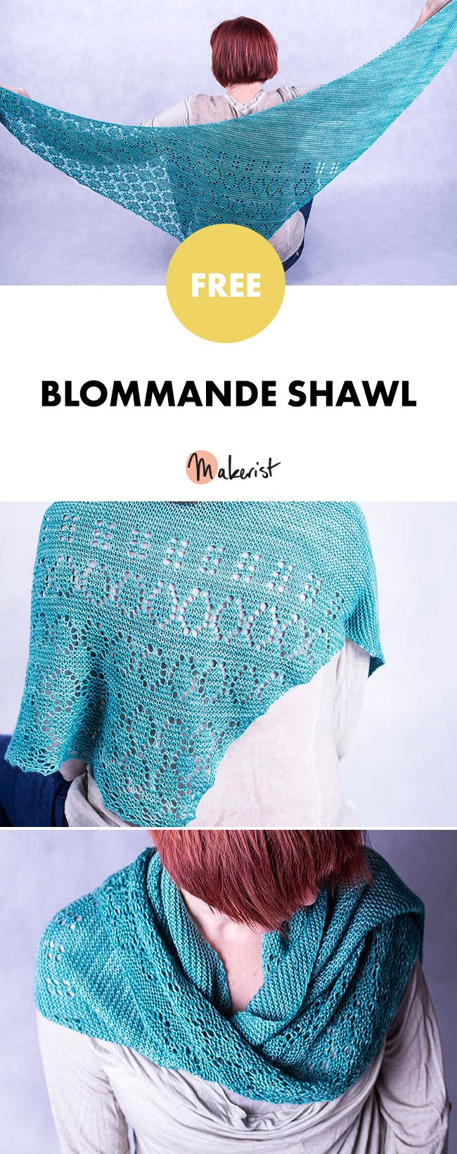 66 best knitting patterns for women images on pinterest knit free knitting patterns available on makerist knit a gorgeous shawl bankloansurffo Images