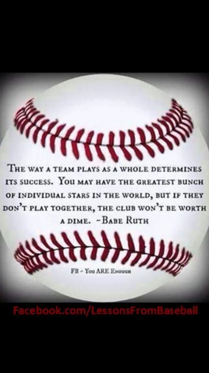 Baseball Quotes About Life 64 Best Quotes Or Words To Liveor Inspiration Images On