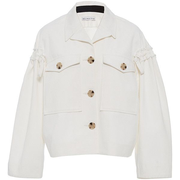 25  best ideas about White denim jackets on Pinterest | White jean ...