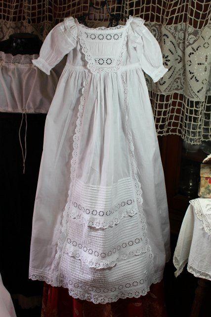 Блошиные онлайн постельное белье, кружева на vêtemnts старых - белья раз - Старый белье - Античный & старинных французское белье