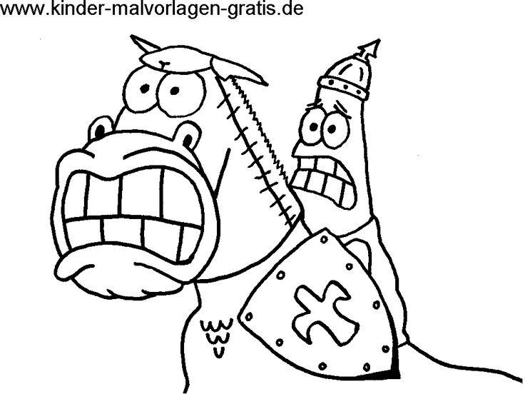 ausmalbilder lustige pferde with images  cartoon