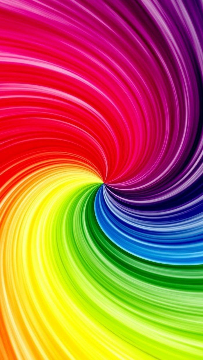 3d Rainbow Color Swirl Wallpaper Iphone Neon Iphone Wallpaper Watercolor Wallpaper Iphone