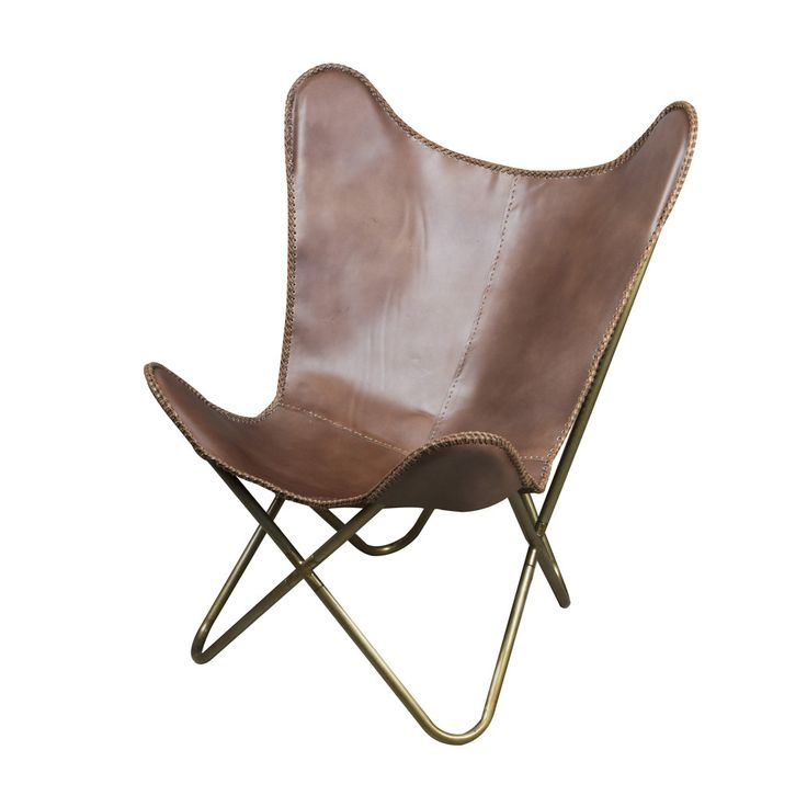 Butterfly Chair Brown from The Shelley Panton Store