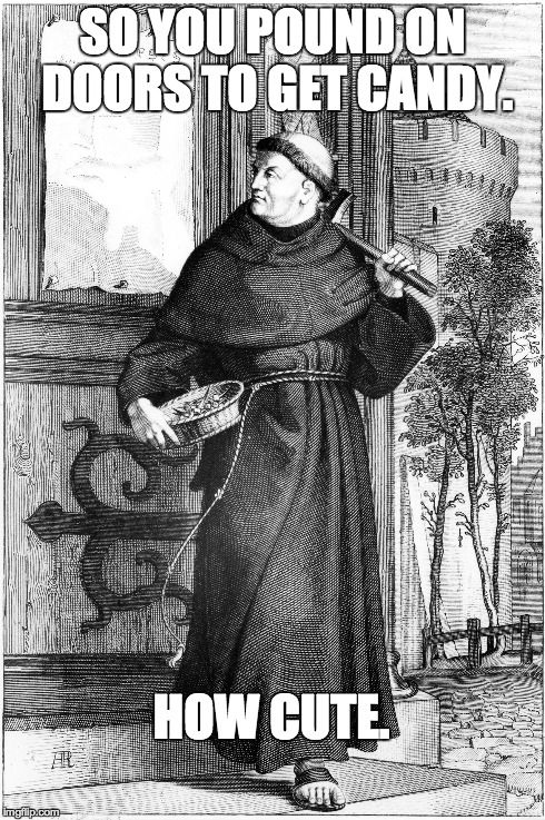 """A little """"meme"""" I whipped up to celebrate Reformation Day."""