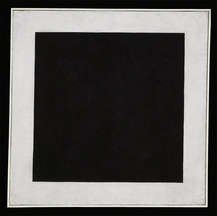 kazimir malevich black square 1913 192329 oil on