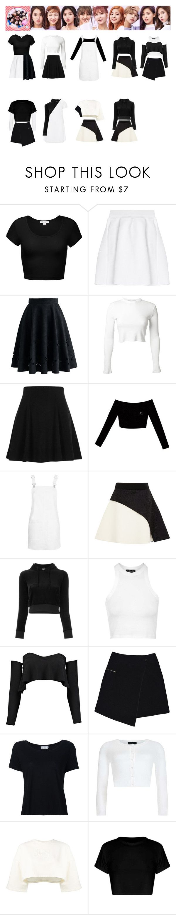 """""""Twice – TT"""" by lily25457 on Polyvore featuring beauty, malo, Chicwish, Rosetta Getty, River Island, Topshop, FAUSTO PUGLISI, Vetements, Boohoo and MARC CAIN"""