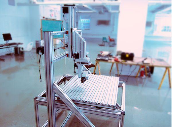 Custom 5 Axis CNC Build on Behance