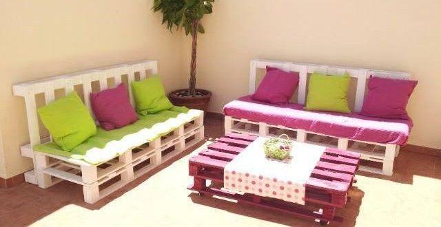 sofa de palets | Muebles con palets