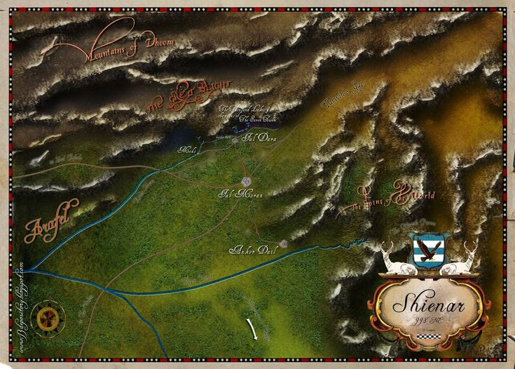 Wheel of Time map - Page 2 - Alternate History Discussion Board