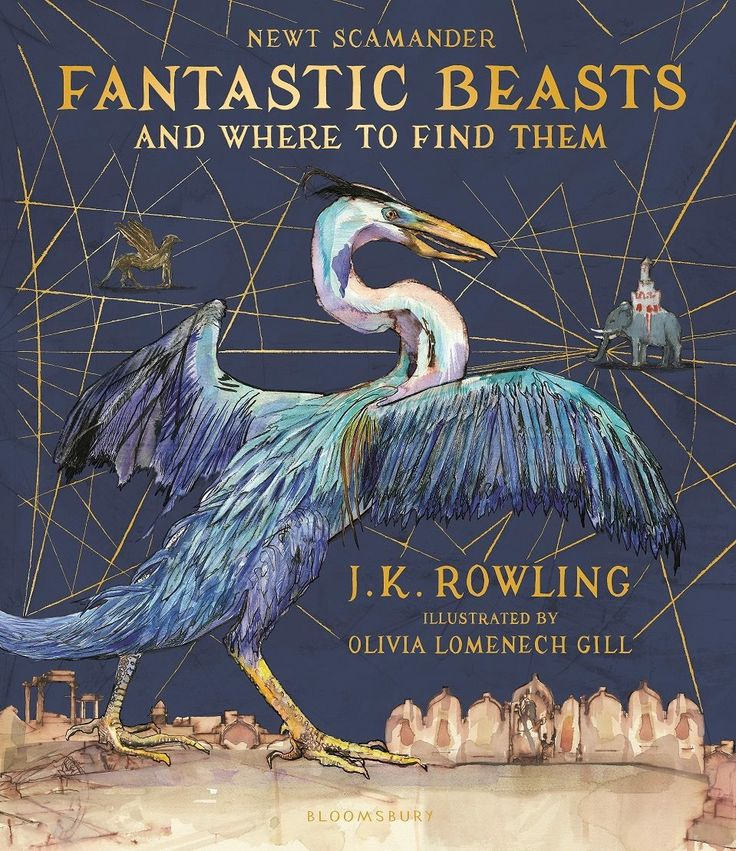 """New, fully-illustrated edition of """"Fantastic Beasts and Where to Find Them"""""""