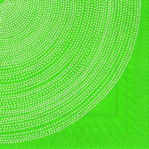 Servetter Marimekko Fokus. Grön