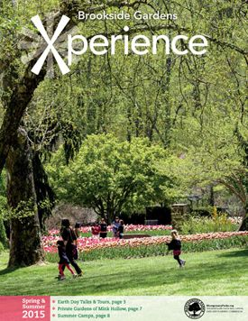 Brookside Gardens Maryland, Xperience Program Guide cover