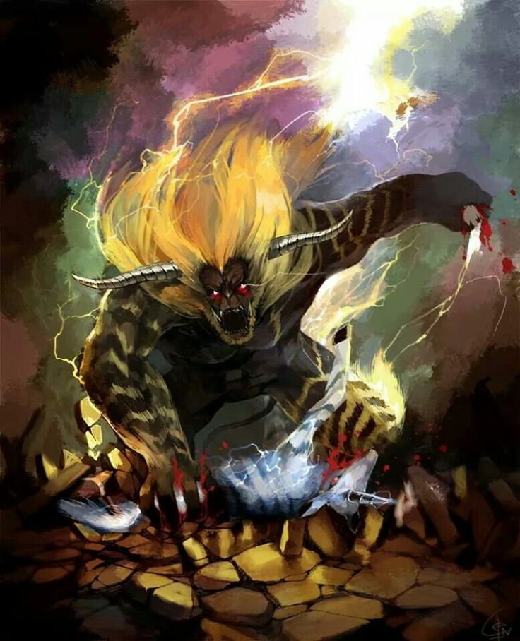Rajang eating a Kirin. Monster Hunter Universe Pinterest