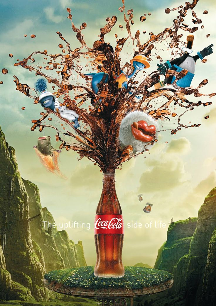 Coke Key Visuals