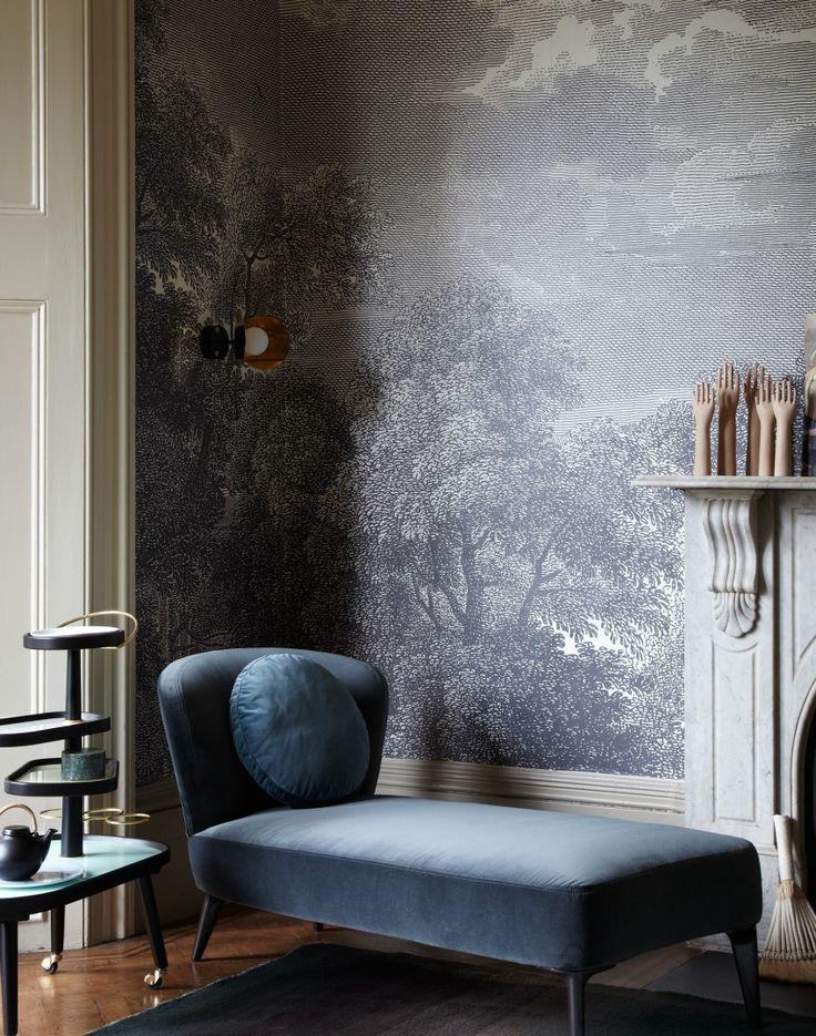 25+ best Velvet wallpaper ideas on Pinterest Blue living room - wallpaper ideas for living room