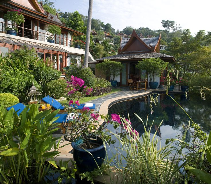 Traditional Garden With Pool: 1000+ Images About Lavish Landscapes On Pinterest