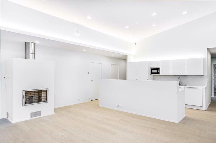 Oak HW Grey in new private house in Oulu, Finland