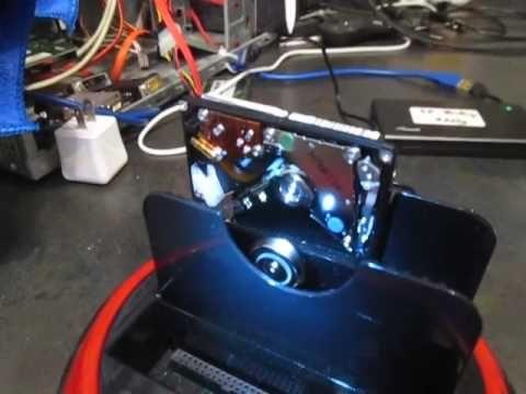 Mr. Robot Shop - Inside a Laptop Hard Drive!