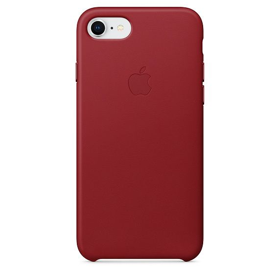 Apple Iphone 7 8 Leather Case Red Iphone 7 Iphone 8 Iphone Leather Case Iphone Apple Leather Case