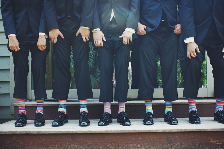 Are colourful socks set to be the next big trend in country gentleman's fashion?