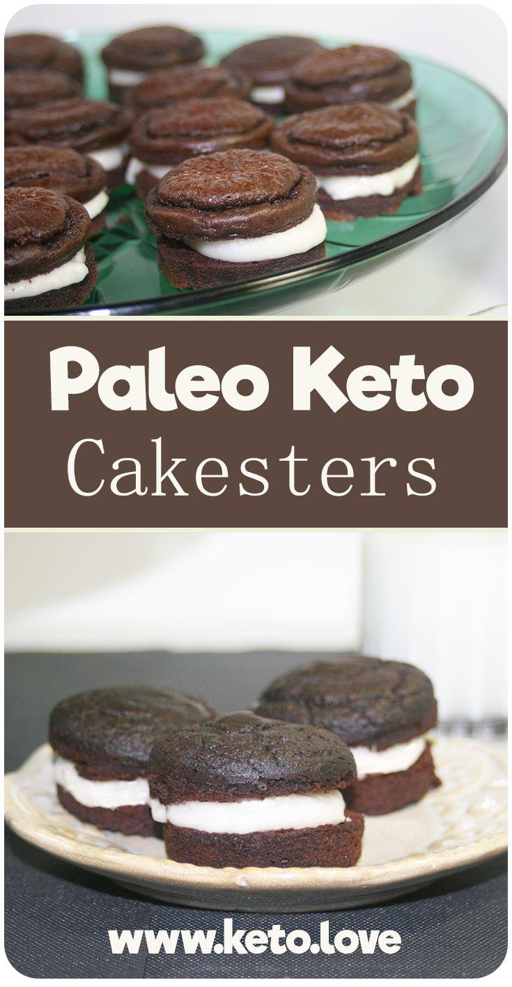Chocolate Keto/Paleo Oreo Cakesters