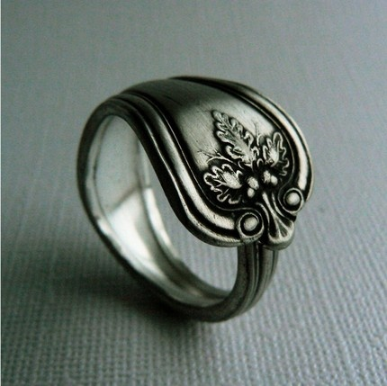 make a spoon ring