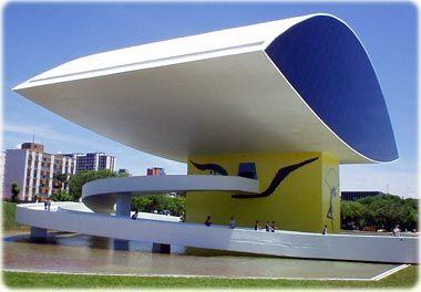 Museu Oscar Niemeyer. Guia Geográfico.