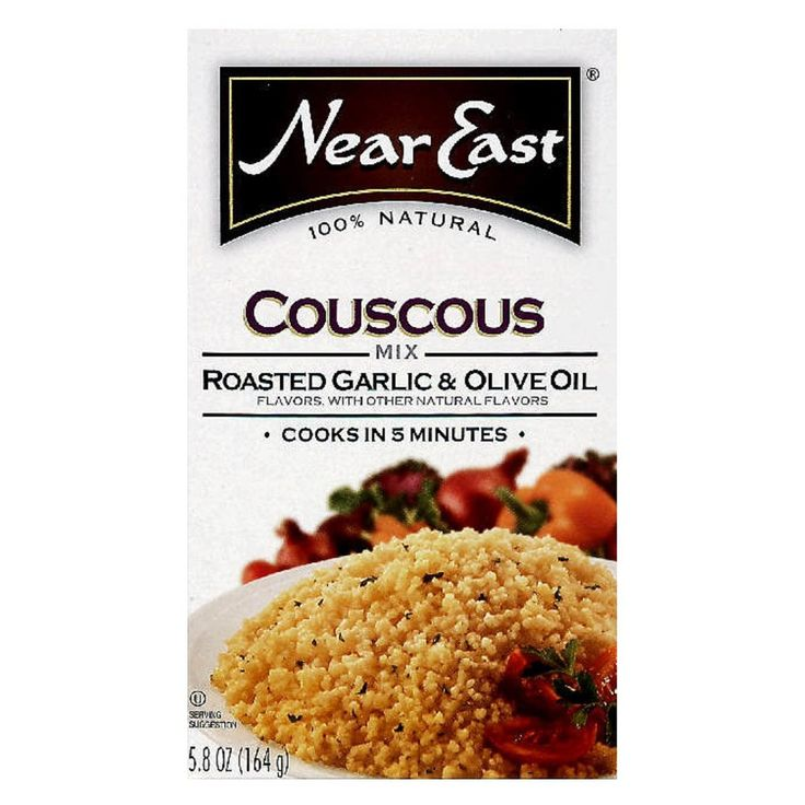 Near East Couscous Garlic 5.8oz