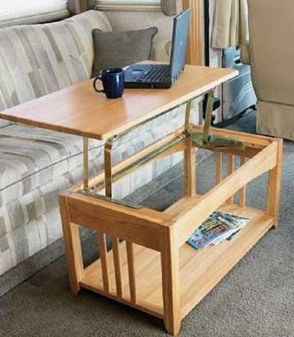 folding coffee table for rv - 25+ Best Ideas About Folding Coffee Table On Pinterest