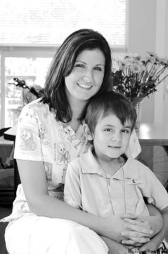 Cassandra Gagne and son, Miguel. She credits the Villa Rosa centre for turning her life around.