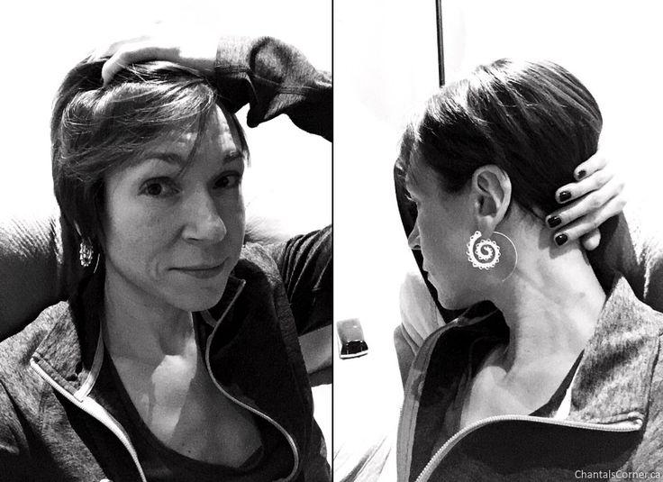 Infiniti Earrings from Grace Callie Designs