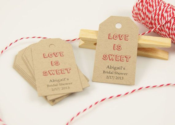 Thank You Quotes For Wedding Shower Gifts : - Wedding Favor Tag - Bridal Shower Favor Tag - Gift Tag, Thank You ...