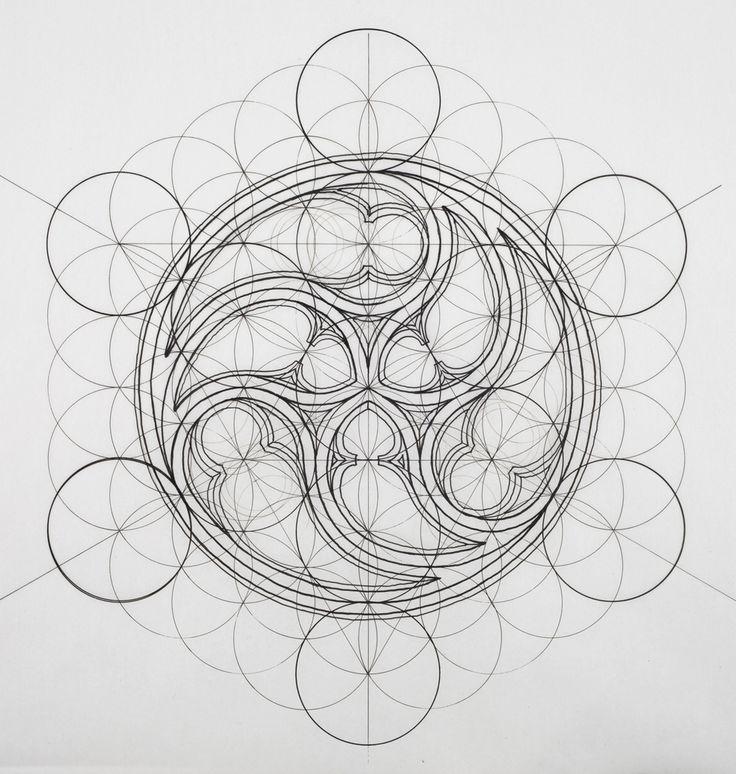 Galería de Rafael Araujo fusiona el arte y la ciencia ilustrando a mano la Proporción Áurea - 7